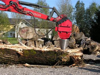 build wood splitter